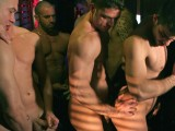 gay porn Menatplay - Nasty Boys || Axel Brooks debuts as a hunky exec who ventures into a sleazy underground sex club, where all eyes, and hands are instantly on him. The cruisy club is packed wall to wall horny guys with big muscles and swollen cocks. With so many naked boys getting down and dirty all around its not long before Axel gets in the mood and finds the hottest guy in the club to pound his tight little ass while the other guys enjoy the action and join in the fun, shooting their loads all over Rio.