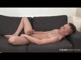 gay porn Marco - Solo || Time to introduce another BLAKEMASON newbie - Marco! He dazzles us with his sexual prowess and he does so in spectacular fashion! Marco's one seriously sexual young guy who lives in Brighton and he has the most perfect toned body, pert pecs, cracking abs and a hefty 8 inches of uncut dick! And that cock of his doesn't just get hard, it gets that big fat veiny kind of hard which simply doesn't budge once it's up!r<br />Although he came across a little nervous in his interview once he had removed his clothes he becomes perfectly at home! It only took a few strokes for Marco to become rock solid and throbbing hard! He takes great pleasure in rubbing lube around his hard cock and swollen glans, in between bursts of both leisurely and frantic wanking!r<br />He certainly puts on an animated show for the camera as he works his way around the sofa, clearly enjoying his lustful jerk off. Working his foreskin back and forth over his swollen cock steadily edges him closer and closer to the point of no return... the pace becomes frantic and all of a sudden he stops completely - his cock throbs a couple of times then shoots out his thick load all over those perfect abs :-)r<br />