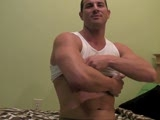Rusty Stevens shoots a thick creamy load right into his hand for us on this exclusive RocketTube video.