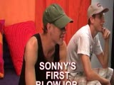 "gay porn Straight Gets First Bj || Sonny's been appearing on Nakedfrathouse for several months. He asked one day if he could do anything to make any extra money. That was my opportunity to see if he'd change his mind about doing something with another guy. It took him awhile to think about it-almost 2 weeks. But finally, he decided that it was ok and he didn't mind being ""gay for pay"". When AJ started sucking his dick, Sonny didn't seem to mind at all. In fact, he seemd to really be enjoying himself. And AJ definitely enjoyed a face full of straight boy cum."