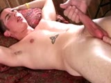 ClubAmateurUSA Bi Stud Ewan sits back rock hard... he loves having his big prick jacked as he gets finger fucked!