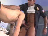Police officer Nick Marino gets his uncut serviced. Clip from All World Videos SHARP