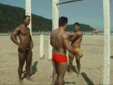 gay porn A Praia - Scene 4 || Cum and relax with some super cute and chiseled Brazilian studs. These boys are having fun but go back to their place for some DIRTY fun. Watch these sexy hard body cocksuckers bend over and slam each other&#34;s tight asses like it&#34;s the best butt sex they ever had. Because