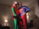 "It""s another Super Vacation watch our sidekick as he remembers his XXX encounter with his heroes! It""s live action fantasy featuring Junior and Rayboy in a super sex"