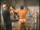 This is a hardcore, kinky video where a slave receives every kind of corporal punishment known to man. It jam-packed with ropes, whips, canes and more outrageous ways to punish their slaves. The pleasurable screams of pain are the only sounds heard on this soundtrack! Daddies, jockstraps, slings, chains and all the other toys you need to make a hot bondage scene are in this movie.