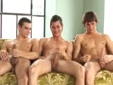 gay porn 3-way Cross Jerk || 3-Way Cross Jerk - Marco Bill, Colin Reeves & Mark Vernon