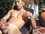 Badpuppy Latino Antonio flexes his muscular body, spreads his horny hole and jacks his huge uncut dick!