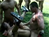 Body Builders Group Sex ||