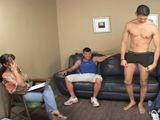 gay porn Str8: Luis  Bait: Edua || Luis our straight victim was just too yummy. His sexy smile, dark hair and eyes, tall, slim and toned body was enough to make your mouth water. Oh yeah, and did I mention the HUGE cock? He really needed to get laid and we had just the plan to help him out. Just what did Luis get to do with this enormous piece of meat?