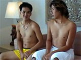 Gay Porn from WankOffWorld - I-Booked-Two-Asian-Lads
