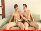 gay porn Hung Jock Boys || One thing is for sure, when you put Ariel Vanean with anyone its going to be an exciting day. This day is especially hot because Ariel and Jack Blue have a special friendship that is clear from the get go. From the very beginning these two can barely keep their hands off each other. Within moments 2 big uncut cocks are hard as a rock and ready for action. Both boys have sweet jock bodies that they explore deeply until Jack turns Ariel over and fucks him from every angle. More hot boys, more big cocks and daily content updates exclusively from BelAmiOnline!