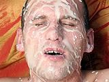 Gay Porn from ManButtered - Hot-Ten-Gay-Load-Goes-Facial