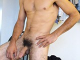 Latino Strokes His Big Dick || 
