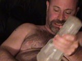 gay porn Jeffrey Huntwell's Sol || Daddy Bear Porn Star Jeffrey Huntwell starts off this video by stroking his long, hard cock. Soon, though, he finds himself balls deep into a Fleshlight. Want to see what else this DaddyAction regular has up his sleeve? Stay tuned!