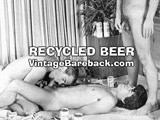 Very rare vintage pre-condom piss movie from 1975 involving three clean cut preppy frat boys getting nasty. You don't buy beer, you only rent it!