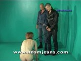 Cody and Silvester abuse slave make him crazy