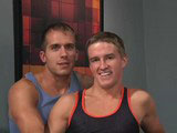 gay porn Tucker Vaughn & Br || Tucker Vaughn and Brandon Lewis rocked the house in one of our hottest Backroom Live shows ever! Tucker told us he hadn't gotten off in days and was so horny he was ready for anything. Brandon, a muscular hunk from Atlanta with a sexy Southern drawl and huge fat cock, couldn't wait to fuck Tucker - which he did, in every position imaginable. Visit the Hot House Backroom to see when our next LIVE show airs - or catch the ones you've missed in our Backroom Archives.