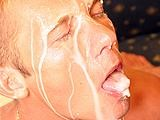Gay Porn from ManButtered - Gay-Gets-Gallons-Of-Sperm