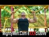 Hot Hunky Sean Steel's second solo video set on MightyMen.Com
