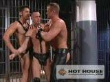 "You'll see why we call Skuff 3: Downright Wrong when hung top-studs Thom Barron and Jason Kingsley work over willing bottom hunks Owen Hawk and Marcos Pirelli. Catch this prison scene where huge cocks dive into deep throats and bubble-butts, ending in action that will ""wet"" your a"