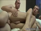 Hot male on male fucking with biggest sperm shots ever bareback asshole gay. Hot twink fuck his boyfriend and unload his sperm in ass and on his face.