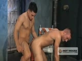 Topher DiMaggio's skateboarding skills have an arousing effect on Matthew Singer. While Topher pulls tricks on his board Matthew pulls his fat cock through a hole in his jeans and begins to stroke. Topher can't resist Matthew's giant meat and skates over to join him. The two young studs fall into a hot 69 with Topher pumping Matthew's face while sucking his cock. The mutual cocksucking leads to buttfucking with Topher coming out on top until they both drain their young nuts!