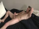 You may get hung up looking at Jack Dillinger's beautiful cock but don't miss out on his devilishly handsome face and lightly hairy pecs and abs.