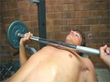 Gay Porn from WankOffWorld - 19yo-Working-Weights-And-Cock