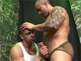 gay porn Military Oral Sex || Sucking the cock to muscle military studs.