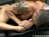 gay porn Cody Cummings And Claudia Vale || When you work out as much as Cody Cummings does, there's nothing that relaxes you more than a deep massage. That's where the lovely Claudia Valentine comes into the pictures. With her strong hands and amazing body, we thought she's be the perfect candidate to give Cody a soothing rub down. Of course it wouldn't be a porn with out some x-rated action taking place. So after she rubs this studs muscles, she plays with his ass before taking his hard cock into her mouth. Deciding that she wants to feel Cody deep inside of her, she gives him a solid fucking before having him unload his warm cream all over her huge tits.