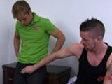 gay porn Trainer Hayden Slams Into Tom' || Trainer Hayden Slams into Tom's hole