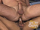 gay porn Johny Fucks Lee Coving || Two of ShowGuys hottest studs suck, fuck and shoot massive loads.