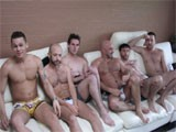 Gay Porn from WankOffWorld - Mass-Home-Orgy-Sex