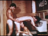 gay porn Old Time Threesome || Ever shove your dick inti someone's throat while taking another one in your ass? If you're not sure you'd like that, just watch this video and be convinced! This bathroom isn't finished yet. It's under construction, and everyone's gone for the day... except for three horny young guys that need some serious dick action. It's a three for all as these guys cram as much cock and cum into asses and mouths as possible.