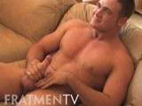 Max and payne jerk off together and laugh at porn and try to keep a straight face about being together naked for the first timer<br />