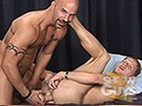 gay sex porn Luke Riley Fucks! || Luke Riley meets a hunky older guy, Brock, and proves to be as good a top as he is a bottom!