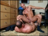 gay porn Girth Brooks And Rod D || Rod is visiting his banker, Mr. Brooks, in hopes that he'll get the funding he needs to add a juice bar to his already successful gym. Mr. Brooks likes the idea but notices some things about Rod's credit that worries him and offers a higher interest rate. Rod suggests a personal one-on-one session as a solution to get a lower rate for his loan and Mr. Brooks accepts.