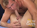 Pornstar and super hunk Scott Tanner and his glorious dick fucks a new hunk with a glorious hole, Chaz!