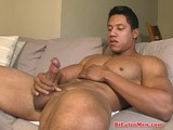 Hot bi latin men shows his hot masculine body & his big uncut cock and strokes his big verga till he unloads a warm load on him self. Visit bilatinmen,com for more hot action and more hot latin guys.