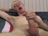 Gay Porn from UrbanBrits - Jerking-His-Meat