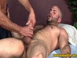 David Chase has been on the massage table before, but in this clip you can see just how much he enjoys his return to Club Amateur and how comfortable he is with Chad Brock!