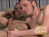 gay porn Horny Studs Fuck! || Hairy, handsome and hung Richard Rox is just the kind of guy voracious bottom Jesse Bryce loves to feel up his ass!