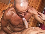 gay porn Muscledaddy Barefuck || if you like the guys more older and bareback than check out this hot new timtales video.<br />Mathis gets barefucked!!