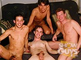 gay porn Foursome! || A wild time is had by Logan, Todd, Alejandro and Enrique when they get naked and fuck on camera!