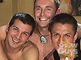 Gay Porn from showguys - 2-Youngsters-1-Daddy