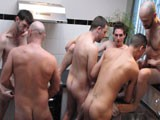 Gay Porn from WankOffWorld - 6-way-Private-Orgy