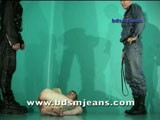 Two Hot Masters Abuse Slave ||
