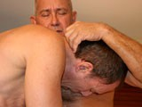Gay Porn from daddyaction - Double-Daddy-Blow-Job