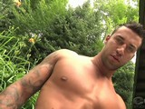 COLT Man Mike Matters is a vision of perfection with his body like Adonis and his penetrating bedroom eyes. He looks like a garden statue in the middle of a peaceful outdoor setting.  Mike treats us to a very special one on one experience as he slowly reveals his rock hard body in various stages of undress. As you enjoy his hard muscled chest, his tight washboard abs and his smooth muscular physique Mikes bulge in his briefs starts to stir; it grows until he is rock hard. Now hes ready to show you what really gets him off. Pulling it out, Mike shows you his monster uncut tool as he slowly begins to stroke that thick long cock. His big low hanging balls are full and eager for some release.  Juicing and milking the head of his thick dick you can tell Mike is working up a big load.   Rock hard, naked and ready to blow, Mike jack-hammers his cock until a thick and heavy stream of cum spurts like a fountain.