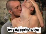 gay porn Dark 141 Jamie West || New to the Boynapped house is the gorgeous Jamie West: cute, shy and very, very big! Jamie finds himself in the hands of the handsome crew member Kieron Knight. Chained to the steel girder like an animal, Kieron torments Jamie with threats of abuse. A man of his word, he touches Jamie up, preparing to fuck the boy's ass which he does until the boy is unable to take more and pleads for the anal assault to end.